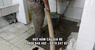 Dịch vụ rút hầm cầu Quang Minh