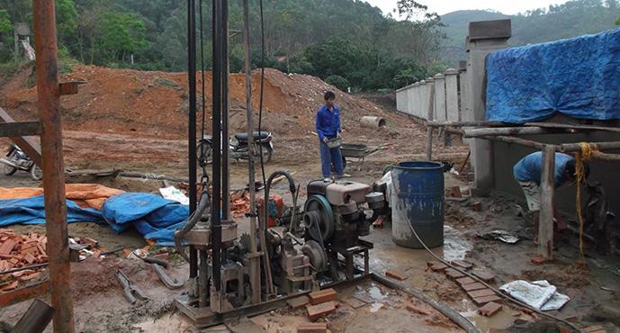 dịch vụ khoan giếng Quang Minh