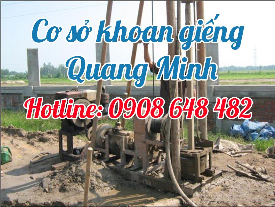 Khoan giếng Quang Minh
